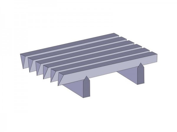 FLAT WEDGE WIRE SLOTTED SCREENS