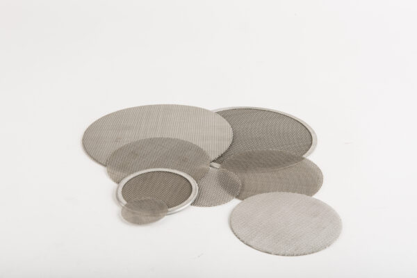 Round mesh filters