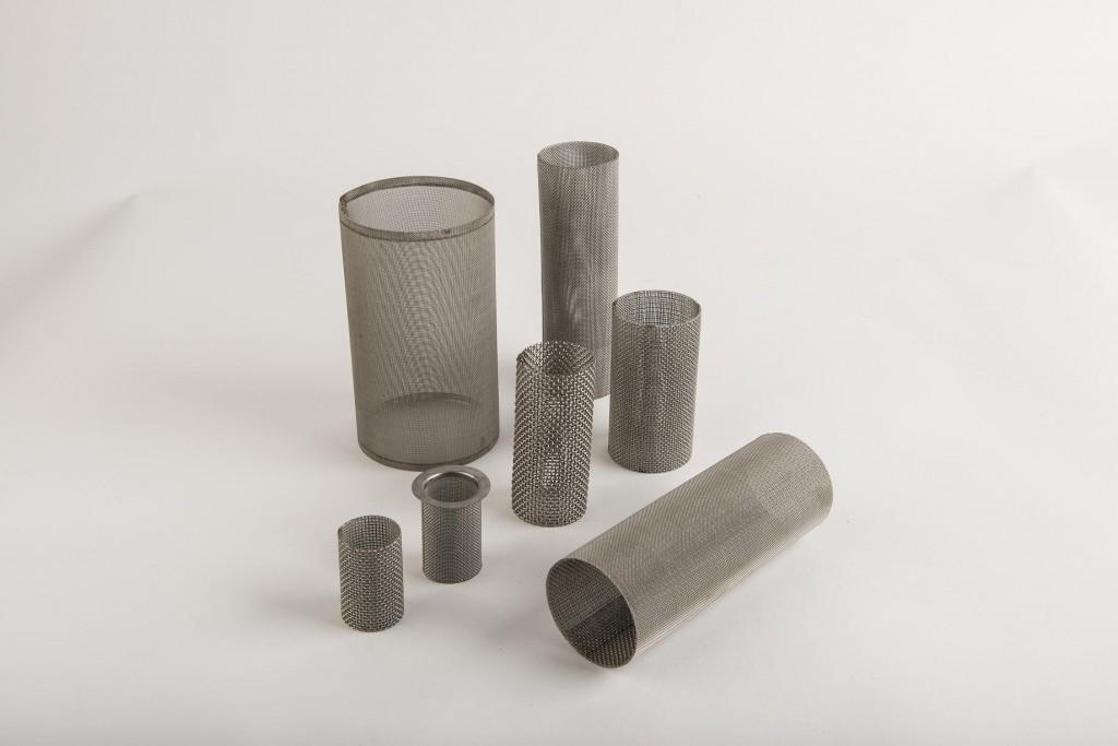 Wkłady siatkowe przelotowe